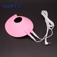 Wholesale Electro Shock Parachute Ball Stretcher With Cable Male Bondage Cock Ring Sex Toys For Men Adult Games BS160715A