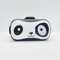 Wholesale High quality virtual reality d glasses new generation cute panda looking d glasses for movies d