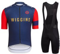 Wholesale New rapha wiggins Cycling Jerseys Sets Summer Cycling Shirts Cycling Clothes Bike Wear british UK Quick Dry assos ss Bicycle Bib Shorts