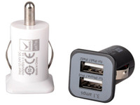 apple itouch uk - USAMS A USB Dual Car Charger V mah Dual Port car Chargers Adapter for iPhone S iPod iTouch HTC Samsung