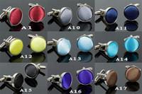 Wholesale men s cuff link Male fashion cufflinks sleeve button cuff link cuff button alloy round arbitraging pair
