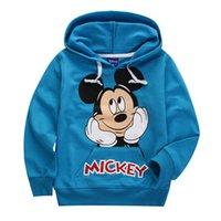 Wholesale 5pcs Autumn children cartoon long sleeve hoodies coat kids outwear clothing for Y