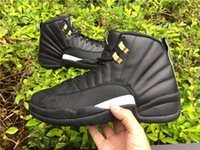 Wholesale High Quality Air Jordan Retro The Master Jordans Retros s XII The Master Black Releases With Original Box