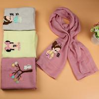 baby fund - Vogue of new fund of autumn winter scarf joker children baby warm cotton decals seasons boy girl child qiu dong