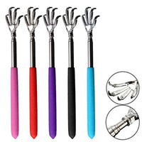 Wholesale 2016 Convenient Claw Telescopic Ultimate Stainless Steel Back Scratcher extendible From to cm
