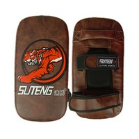 Wholesale New Arrival SUTEN Faux Leather Boxing Sanda Foot Target Training Pad For Kicking Boxing Taekwondo Shockproof Tiger Foot Target
