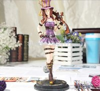 Wholesale Anime Collection Model Toy LOL Caitlyn with Gun Action Figures