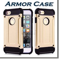 armor protective packaging - Hybrid Armor Case For Samsung Note Rugged PC And TPU Case Dual Layer Armor Protective Case For Iphone S S with OPP Package