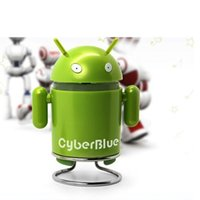audio playe - Cheap Mini Android Robot Type Cartoon Wireless Bluetooth Sound Speaker Audio Stereo for Cellphone Computer MP3 MP4 MP5 Bluetooth music playe