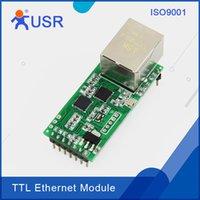 Wholesale USR TCP232 T2 Serial UART TTL to Ethernet Module DHCP DNS