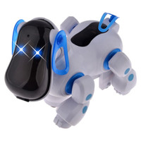 Wholesale Cute Smart Robot Electronic Walking Pet Patrol Dog Puppy Juguetes Toys with Music Light for Children Kids