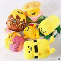 baby pendent - 6 Designs Hot Sale cm Lazy Egg Gudetama Plush Doll Stuffed Toy Plush Animals For Baby Christmas Gifts Pendent CCA5173