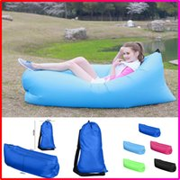 beach hikes - Hot Selling Outdoor Portable Fast Inflatable Hangout Air Lazy Sleeping Sofa Bed Camping Hiking Travel Beach Bag Bed