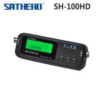 [Original] Sathero SH-100HD bolsillo Satélite Digital Satellite Finder Medidor Sathero SH-100 HD señal Sat Buscador de DVB-S2 USB 2.0 para tr $ 18Nadie