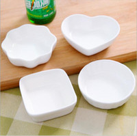 Wholesale New Arrival Tableware Flavoring Dish Seasoning Dish Small Ceramic Sushi Dishes Styles Optional YDD02021