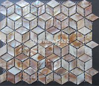 Wholesale Shell Mosaic Tiles Naural Mother of Pearl Tiles kitchen backsplash bathroom wall flooring tiles