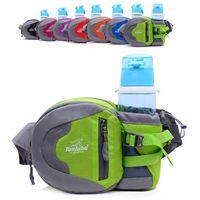 Wholesale Brand Purse On The Belt Waist Belt Bag With Water Bottle Holder Riding Bicycling Walking Waist Pack Military Bag Waist