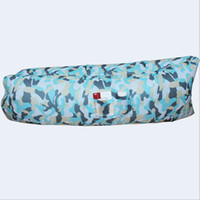 beach room accessories - camouflage inflatable banana Sleeping Bag without side pocket Living Room Sofa bed lazy chair beach garden air lounge Hiking Travel air bag
