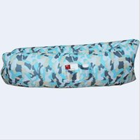beach room accessories - camouflage inflatable banana Sleeping Bags without side pocket Living Room Sofa bed lazy chair beach garden air lounge Hiking Travel air bag