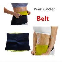 Wholesale Hot Neoprene Slimming Waist Belts Sports Shaperwear Safety Body Shaper Training Corsets Yoga Fitness Tops Waist Fit Sweat Belt