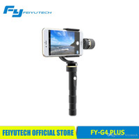 Wholesale Feiyutech Official Store new arrival FY g4 plus axis brushless handheld gimbal for smartphone iphone iphone s
