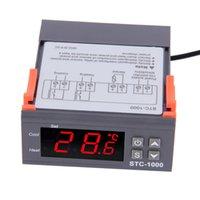 Wholesale 1pc High Quality Temperature Controller Thermostat Aquarium STC1000 Incubator Cold Chain Temp Laboratories temperature