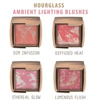 Wholesale 2016 NEW Arrival HOURGLASS Makeup Face Blush Ambient Lighting Powder Natural Blusher Palette Long lasting Cosmetic Blushes