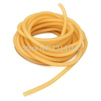 Wholesale itness Equipments Resistance Bands Quality Assurance M x5mm Natural Latex Tubing Rubber Band For Slingshot Catapult Elastic Part F