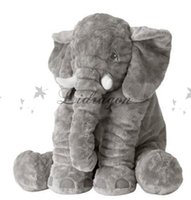 baby gifts fedex - Fedex DHL Free elephant pillow baby doll children sleep pillow birthday gift INS Lumbar Pillow Long Nose Elephant Doll Soft Plush Z494