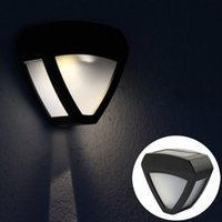 Wholesale Miyol Cold White Warm White LED Garden Solar Lights Fence Gutter Wall Lamp Yard Roof Outdoor Light