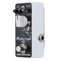 Wholesale High Quality Mighty Sound M1 Distortion Pedal Mini Electric Guitar Effect Pedal True Bypass Excellent Guitar Accessories