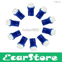 Wholesale LED Car Interior light V Blue T10 LEDs car Bulb License Plate Lights Lamp