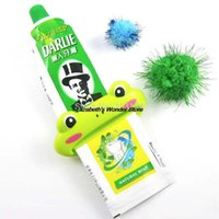 Wholesale 1pc Cartoon Frog Animal Toothpaste Tube Squeezer Easy Squeeze Paste Dispenser Roll Holder