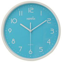 Wholesale Hippih Inches Plastic Wall Clock Modern Silent Clocks New Arrival Saat Clock Home Decoration Horloge Murale Relogio De Parede
