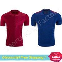 memphis - DHL Red Devil MEMPHIS MAN SCHWEINSTEIGER Rooney MARTIAL MATA football shirts Soccer Jersey Men blue Shirt