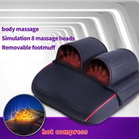 big foot spa - Big Discount Massager Reflexology Spa for Stress Fitness Health Gift For Lovers Electric Foot Massager Health Care Personal Massagem