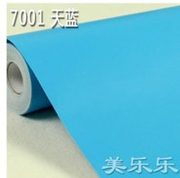 advertising study - PVC adhesive wallpaper wallpaper Post it note advertising lettering renovation pure color wall stickers furniture