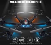 Wholesale MJX X600 Headless Mode GHz Axis Gyro RC drones with D Roll Stumbling UFO quadcopter dron remote control helicopter