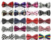 Wholesale Unisex Neck Bowtie Bow Ties For Men Women Adjustable Bow Tie High Quality Metal Adjustment Buckles Multi style