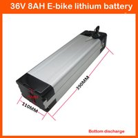 Wholesale Bottom discharge scooter lithium battery V AH Electric Bike MOTO Battery with silver fish case A charger and A BMS
