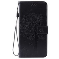 ace life - For Samsung J1 ACE Fashion cardholders Wallet Leather Emboss tree the tree of life Flip Wallet Case Cover with Kickstand and Wrist Strap