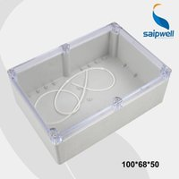aluminum project box enclosure - Waterproof Plastic Electronic Project Box Enclosure Case Waterproof Clear Cover SP F4 T