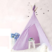 Wholesale Free Love lesi design color kids play tent indian teepee children playhouse children play room teepee
