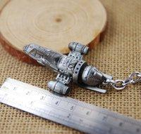 best movie voices - Star Wars Spacecraft Superhero Keychains Movie Superman Symbol Pendant Children Key Rings Toys Best Gift K45E