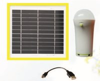 Wholesale STP401D Solar power system lights for outdoor lighting and phone charging with charging kit w solar panel and Mah lithium battery