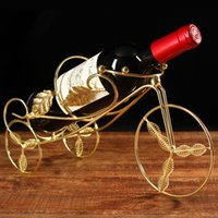 bicycle wine bottle holder - Bicycle Tabletop Wine Bottle Holder Red Wine Rack Stand Hand Made Creative Gift for a Wine Lovers