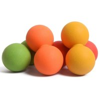 Wholesale Crossfit Gym Training Mustle Relex Ball Peanut Shape Trigger Point Exercise Relief Mobility Tools Yoga Massage Ball