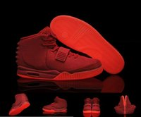 basketball shoes low prices - Red October mens shoes high quality basketball shoes for men discount prices Fasion sneaker Kanye West red