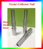 Wholesale Titanium Nectar Collector Nail mm mm mm Titanium Nail tips Grade Titanium Tip dab rig