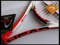 Wholesale Tennis Racket High Quality Head Carbon Fiber Tennis Racket Racquets Pure Drive Equipped with Bag Tennis Grip Size